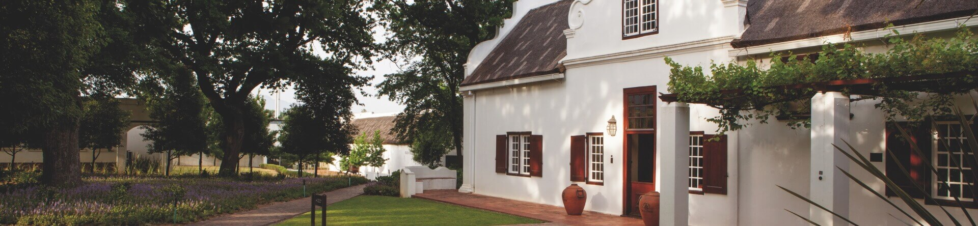 Nederburg Manor House Side