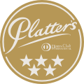Platter's by Diners Club South Africa Wine Guide 4,5 Stars (91 Points)